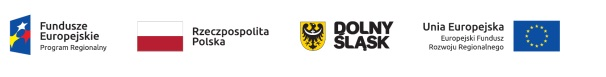 Logo Fundusze Europejskie Rzeczpospolita Polska Dolny Śląsk Unia Europejska