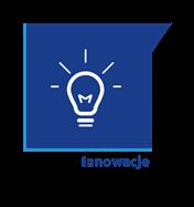 ikona ilustrująca innowacje