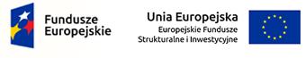 Zestawienie znaków: Fundusze Europejskie oraz Unia Europejska EFSI