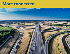 More connected. Important international road connections. Phot. Lech Wilczaszek