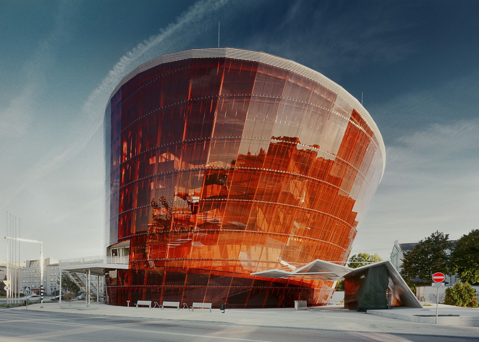 "The concert hall ""Great Amber"" in Liepāja, Latvia. Phot. Indriķis Stūrmanis"