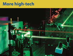 "More high-tech. Ekspla laser company, development and implementation of laser technologies.  Phot. UAB ""Ekspla"""