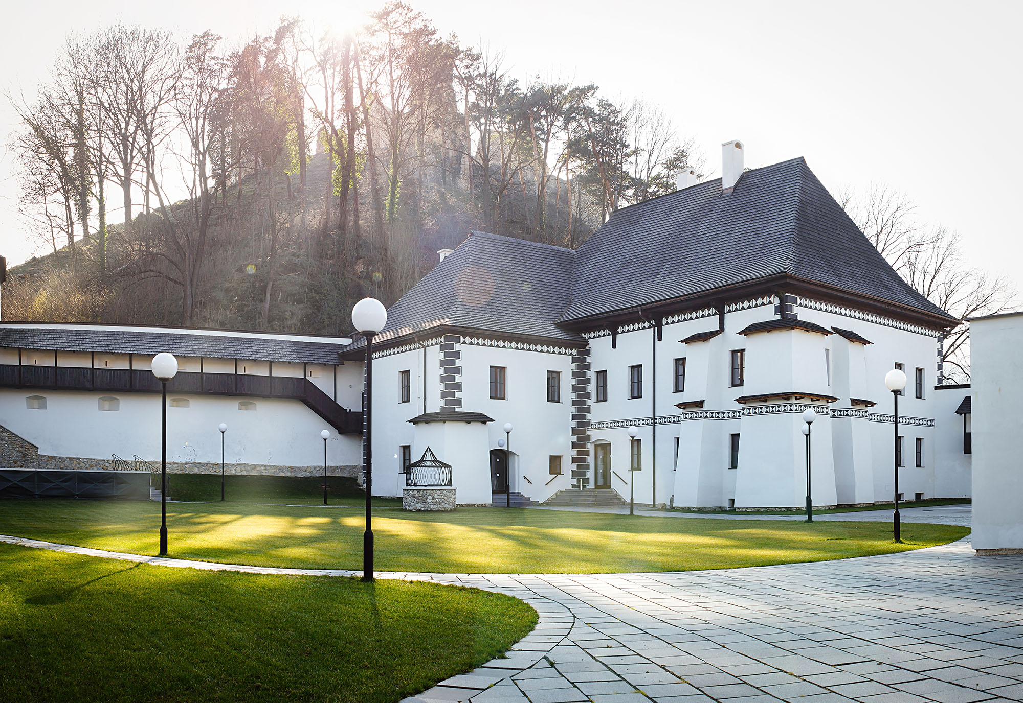 The Zichy's Mansion in Divín. Phot.: OSSKP Divín, Copyright: Government Office of the Slovak Republic