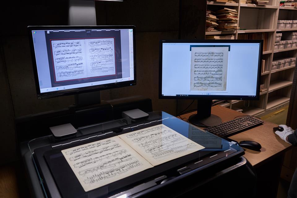 Zdigitalizowane dzieła Chopina