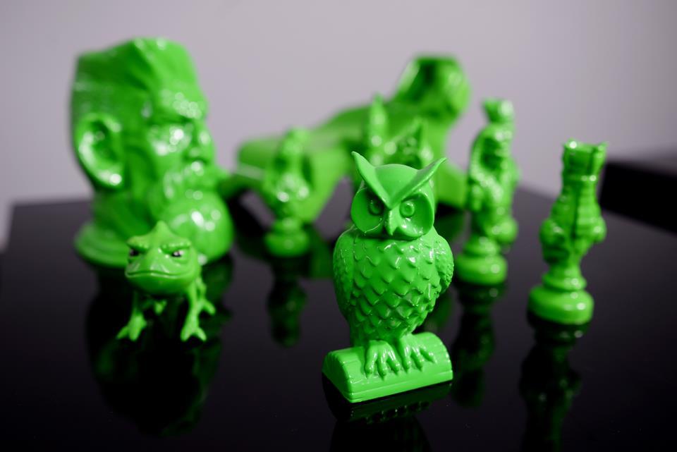 Figurki wydrukowane w 3D