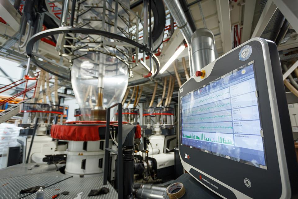Linia technologiczna do produkcji folii
