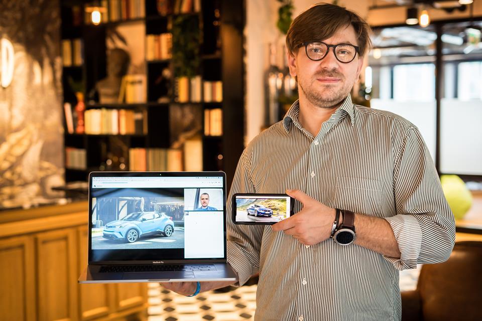 Cezary Ziemiński, prezes Onevid.io i dyrektor ds. rozwoju technologii