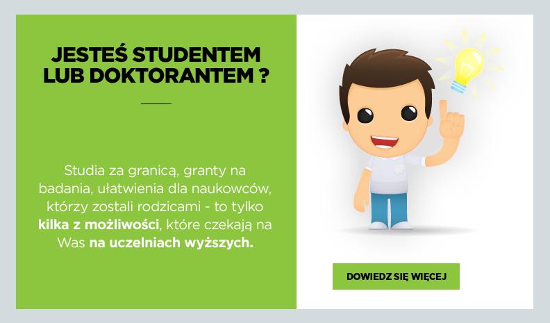 Oferta dla studentów i doktorantów
