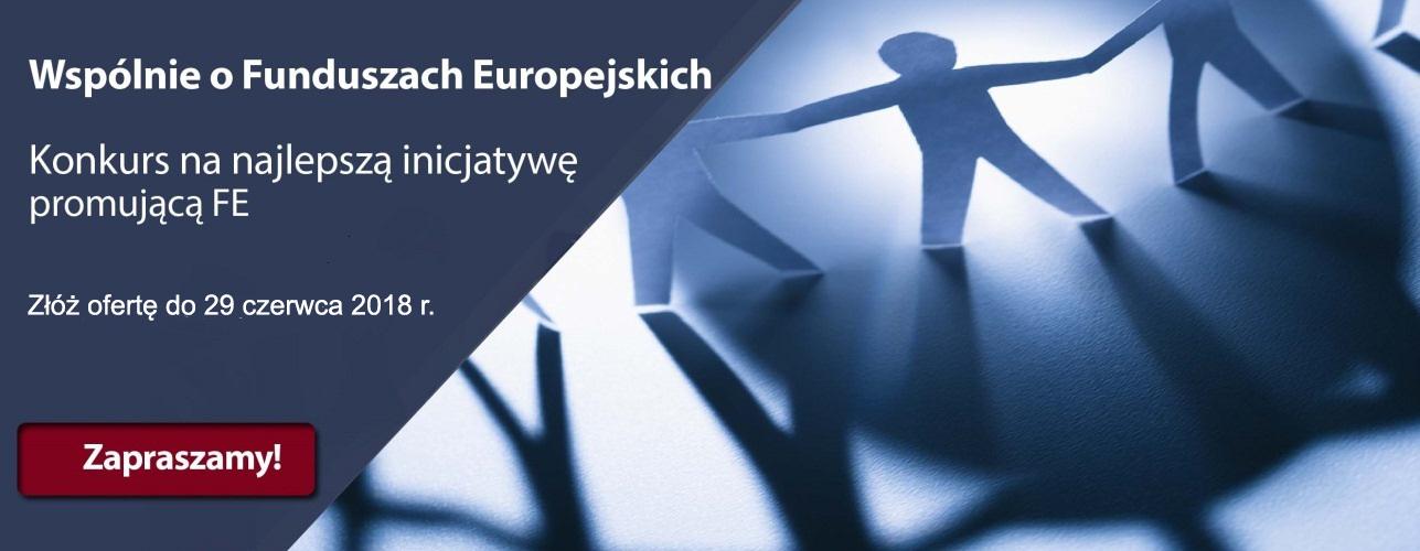 Link do informacji Wspólnie o Funduszach Europejskich