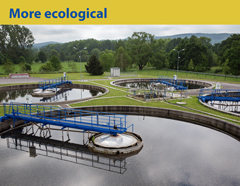 More ecological. Strakonice – wastewater treatment plant and sewerage completion. Phot. Michal Novotny