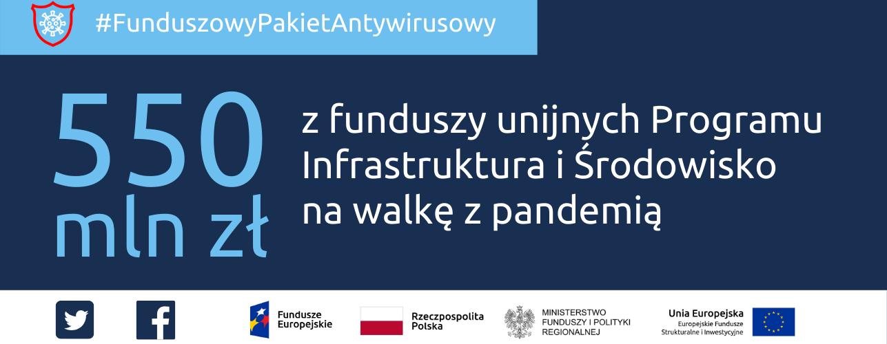 Przekierowanie do wiadomości: Dodatkowe ponad pół miliarda złotych z funduszy unijnych dla słuĹźby zdrowia na walkę z koronawirusem