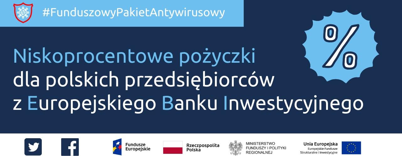 Przekierowanie do wiadomości: Niskoprocentowe poĹźyczki dla polskich przedsiębiorców z Europejskiego Banku Inwestycyjnego