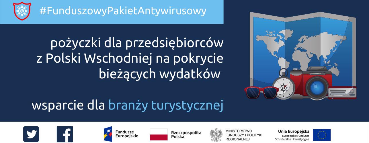 przekierowanie do wiadomości: Pomoc dla branży turystycznej w Polsce Wschodniej