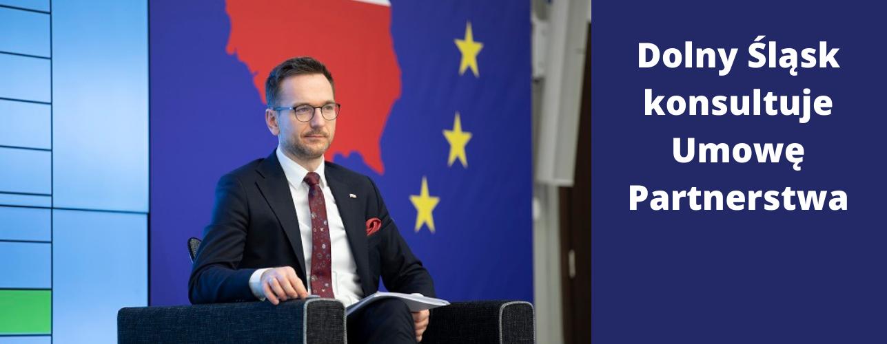 """Przekierowanie do wiadomości """"Dolny Śląsk konsultuje Umowę Partnerstwa. Rozmawiamy o funduszach unijnych na lata 2021-2027"""""""