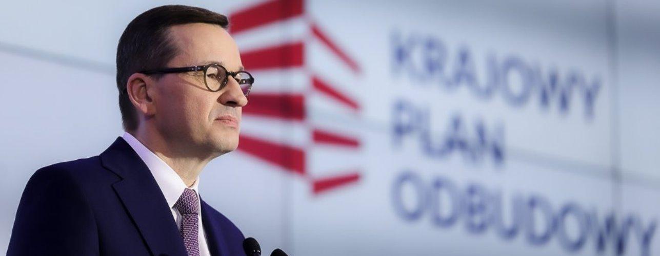 """Przekierowanie do wiadomości """"Krajowy Plan Odbudowy - programujemy fundusze unijne dla Polski"""""""